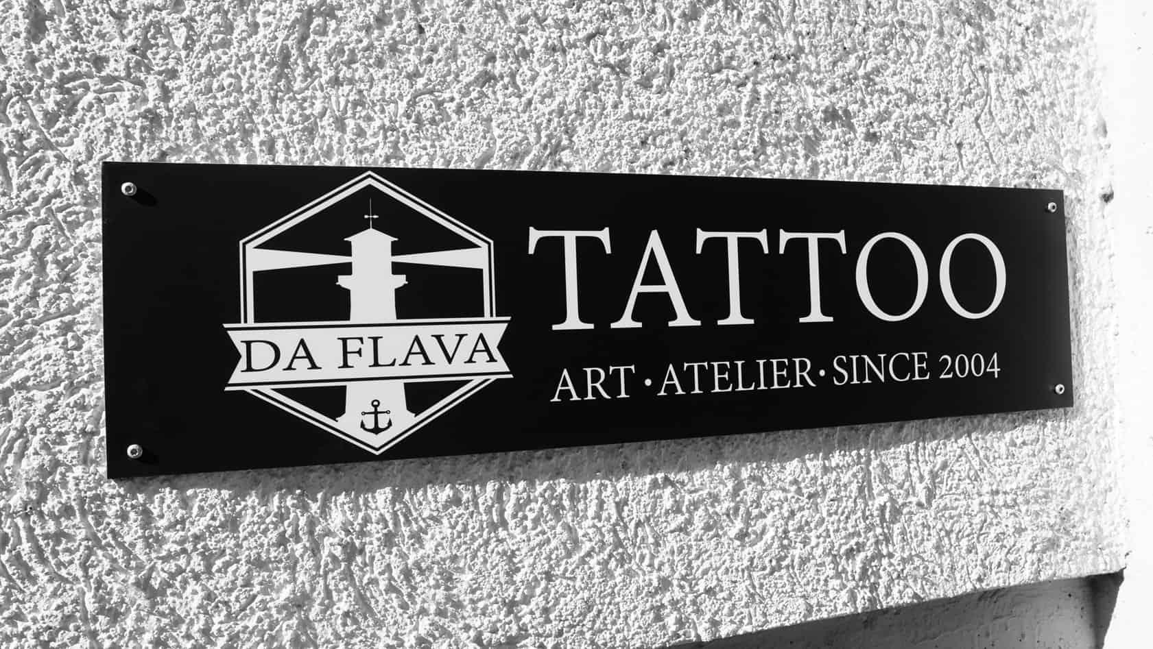 da flava tattoos front