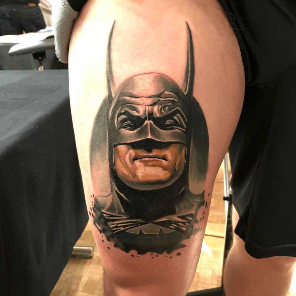 da flava tattoos batman tattoo