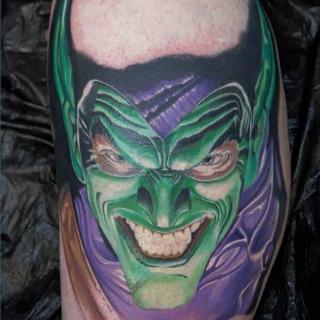 Green Lantern Tattoo aus Stuttgart