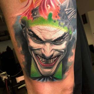 Joker Tattoo in Stuttgart stechen lassen